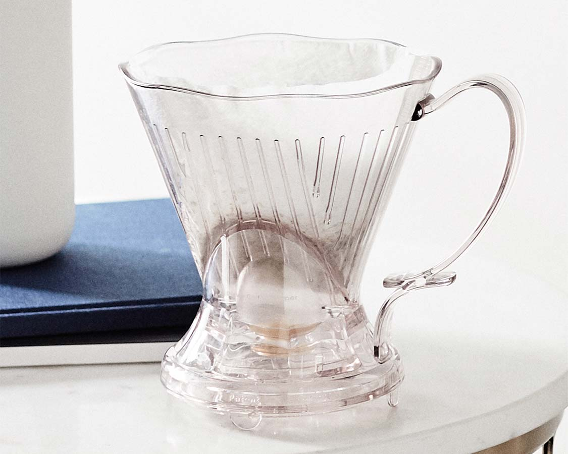 clever dripper with melitta filter