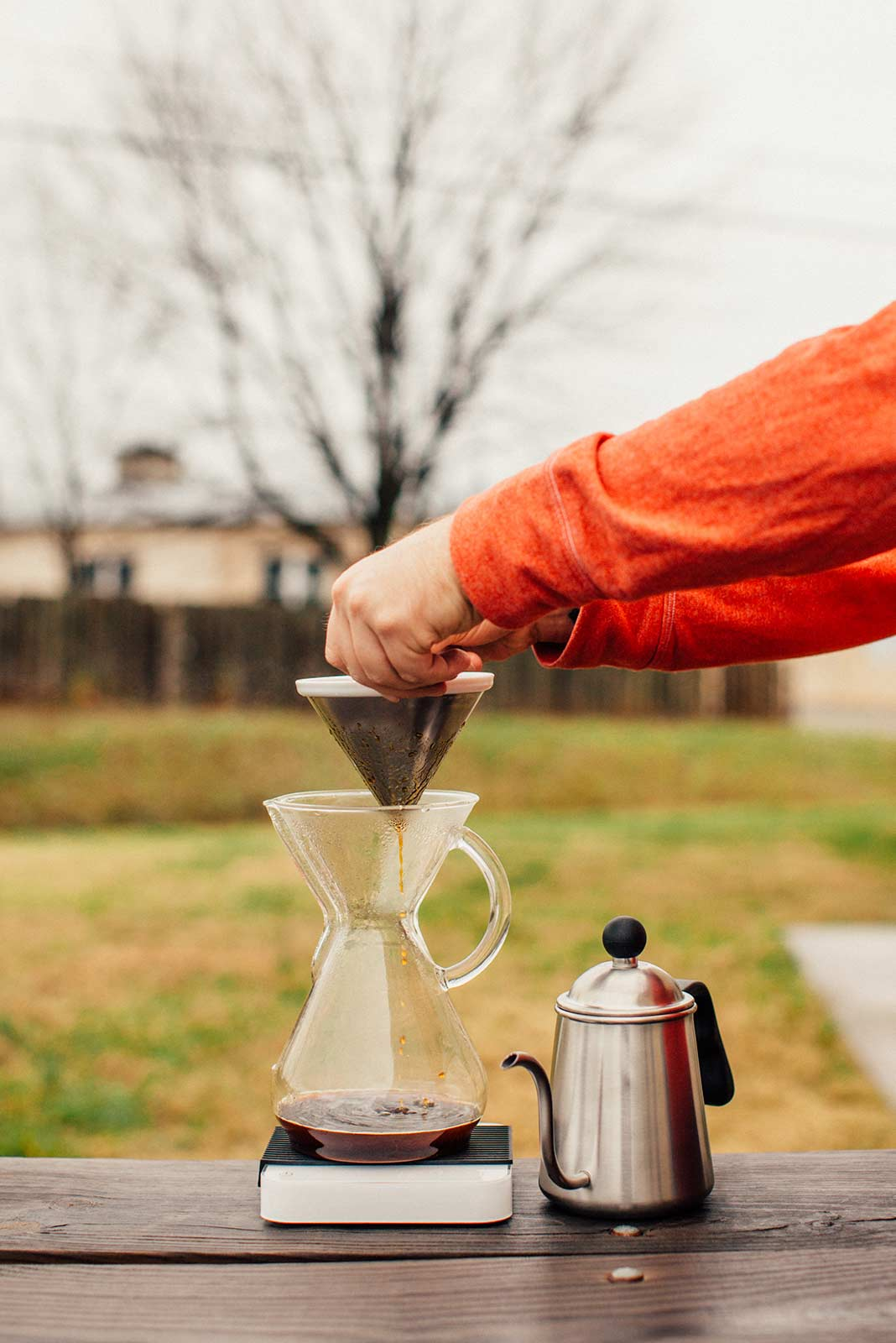 Kone with chemex and able kettle