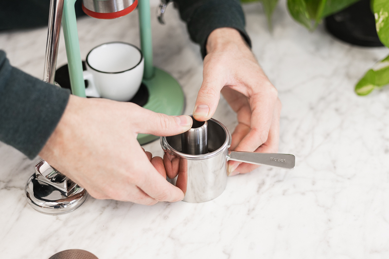 robot barista how to use
